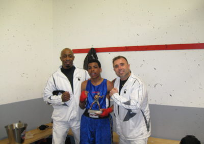 Boxing Pictures 2008 in NB Corky's win with Head Coach Gary Johnson & Assist Coach Floyd Donovan